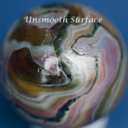 unsmooth surface